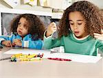Children Drawing    Stock Photo - Premium Rights-Managed, Artist: Tom Feiler, Code: 700-00588683