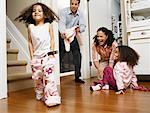 Family at Home    Stock Photo - Premium Rights-Managed, Artist: Tom Feiler, Code: 700-00588696