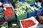 Vegetable Stand, Oia, Santorini, Greece