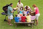 Family Picnic    Stock Photo - Premium Rights-Managed, Artist: Kevin Dodge, Code: 700-00590939
