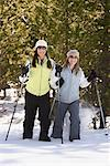 Women Snowshoeing    Stock Photo - Premium Rights-Managed, Artist: Marc Vaughn, Code: 700-00591169