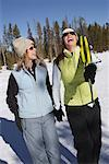 Women Snowshoeing    Stock Photo - Premium Rights-Managed, Artist: Marc Vaughn, Code: 700-00591175
