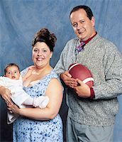 fat man balls - Family Portrait    Stock Photo - Premium Rights-Managednull, Code: 700-00593172