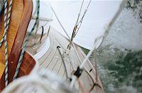sailing boat storm - Boat in rough sea Stock Photo - Premium Royalty-Freenull, Code: 614-00602729