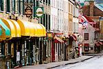 Rue St. Louis, Quebec City, Quebec, Canada    Stock Photo - Premium Rights-Managed, Artist: Jeremy Woodhouse, Code: 700-00604052