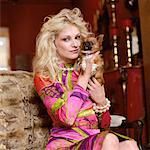 Woman with Chihuahua    Stock Photo - Premium Rights-Managed, Artist: Masterfile, Code: 700-00604928