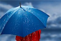 Person Holding Umbrella    Stock Photo - Premium Rights-Managednull, Code: 700-00605139