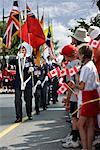 Canada Day Parade, Parliament Hill, Ottawa, Ontario, Canada    Stock Photo - Premium Rights-Managed, Artist: Gary Gerovac, Code: 700-00606396