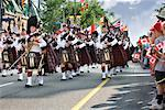 Canada Day Parade, Parliament Hill, Ottawa, Ontario, Canada    Stock Photo - Premium Rights-Managed, Artist: Gary Gerovac, Code: 700-00606397