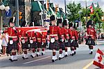 Ceremonial Guard, Canada Day Parade, Parliament Hill, Ottawa, Ontario, Canada    Stock Photo - Premium Rights-Managed, Artist: Gary Gerovac, Code: 700-00606398