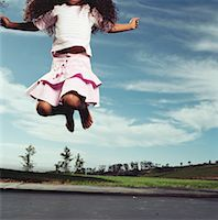 preteen girl feet - Girl Jumping on Trampoline    Stock Photo - Premium Rights-Managednull, Code: 700-00606701