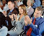 Business People Clapping    Stock Photo - Premium Rights-Managed, Artist: Masterfile, Code: 700-00607496