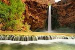 Mooney Falls, Havasupai Indian Reservation, Supai, Arizona, USA    Stock Photo - Premium Rights-Managed, Artist: F. Lukasseck, Code: 700-00607966