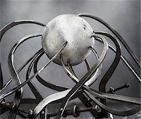 Callipers and Sphere Stock Photo - Premium Royalty-Freenull, Code: 600-00608273