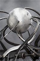Metal Sphere and Callipers    Stock Photo - Premium Royalty-Freenull, Code: 600-00608301