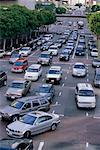 Busy Traffic in Los Angeles, California, USA    Stock Photo - Premium Rights-Managed, Artist: Brian Sytnyk, Code: 700-00608786