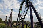 Roller Coaster Stock Photo - Premium Rights-Managed, Artist: Rommel, Code: 700-00608974