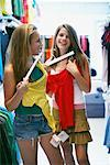 Teenagers Shopping    Stock Photo - Premium Rights-Managed, Artist: Jerzyworks, Code: 700-00609525