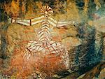Aboriginal Rock Art, Nourlangie Rock, Kakadu National Park, Northern Territory, Australia
