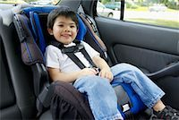filipino (male) - Portrait of Boy in Car Seat    Stock Photo - Premium Rights-Managednull, Code: 700-00610445