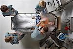 Doctors Working on Patient    Stock Photo - Premium Rights-Managed, Artist: Graham French, Code: 700-00610971