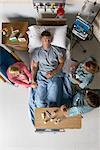 People Surrounding Man in Hospital Bed    Stock Photo - Premium Rights-Managed, Artist: Graham French, Code: 700-00610972