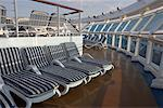 Deck Chairs on Cruise Ship    Stock Photo - Premium Rights-Managed, Artist: dk & dennie cody, Code: 700-00616823