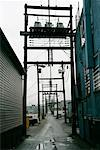 Alley in Vancouver, British Columbia, Canada    Stock Photo - Premium Rights-Managed, Artist: Dave Robertson, Code: 700-00618691