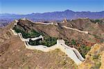 Great Wall, Jinshanling, China    Stock Photo - Premium Rights-Managed, Artist: F. Lukasseck, Code: 700-00618798