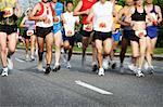 People Running Marathon    Stock Photo - Premium Rights-Managed, Artist: Jeremy Maude, Code: 700-00634249