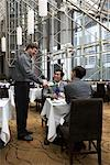Couple at Hotel Restaurant    Stock Photo - Premium Rights-Managed, Artist: Michael Mahovlich, Code: 700-00635409