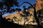 Ormiston Gorge in the West MacDonnell Ranges, Northern Territory, Australia
