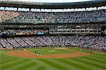 Baseball Game at Safeco Field, Seattle, Washington, USA