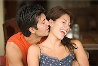Man Hugging Woman    Stock Photo - Premium Rights-Managednull, Code: 700-00635792