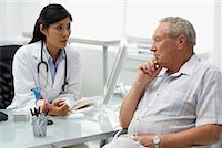 Doctor with Patient    Stock Photo - Premium Rights-Managednull, Code: 700-00639400