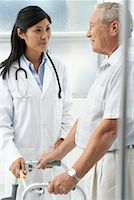 Doctor with Patient    Stock Photo - Premium Rights-Managednull, Code: 700-00639416