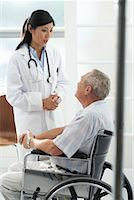 Doctor with Patient    Stock Photo - Premium Rights-Managednull, Code: 700-00639421