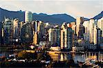 Vancouver Skyline, British Columbia, Canada    Stock Photo - Premium Rights-Managed, Artist: Jeremy Woodhouse, Code: 700-00639692