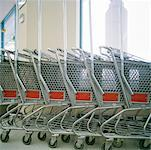 Grocery Carts    Stock Photo - Premium Rights-Managed, Artist: Derek Shapton, Code: 700-00641179