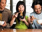 People Eating    Stock Photo - Premium Rights-Managed, Artist: Masterfile, Code: 700-00643921