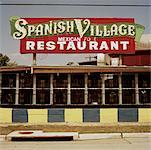 Spanish Village Restaurant, Houston, Texas, USA    Stock Photo - Premium Rights-Managed, Artist: Mark Peter Drolet, Code: 700-00659679