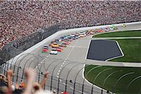 Nascar Race at Texas Motor Speedway, Texas, USA    Stock Photo - Premium Rights-Managednull, Code: 700-00681443