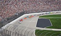 Nascar Race at Texas Motor Speedway, Texas, USA    Stock Photo - Premium Rights-Managednull, Code: 700-00681444