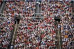 Crowd on Bleachers, Texas Motor Speedway, Texas, USA