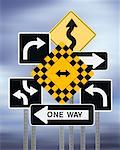 Road Signs    Stock Photo - Premium Rights-Managed, Artist: Nora Good, Code: 700-00683367