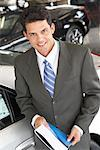 Portrait of Car Salesman