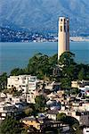 Coit Tower, San Francisco, California, USA    Stock Photo - Premium Rights-Managed, Artist: Damir Frkovic, Code: 700-00695588