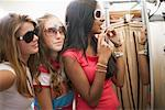Friends Trying on Sunglasses    Stock Photo - Premium Rights-Managed, Artist: Jerzyworks, Code: 700-00695600