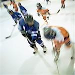 Hockey Players    Stock Photo - Premium Rights-Managed, Artist: Matthew Plexman, Code: 700-00695866