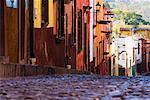 Street, San Miguel de Allende, Guanajuato, Mexico    Stock Photo - Premium Rights-Managed, Artist: Jeremy Woodhouse, Code: 700-00711509